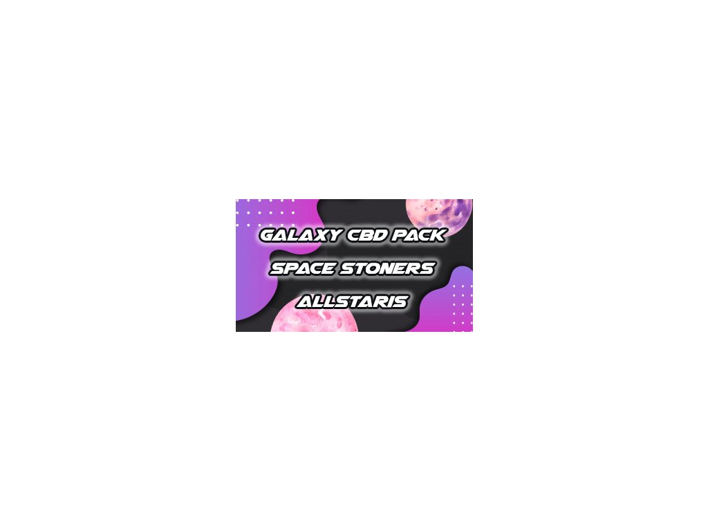 Special Space Stoners Galaxy Pack CBD Allstaris