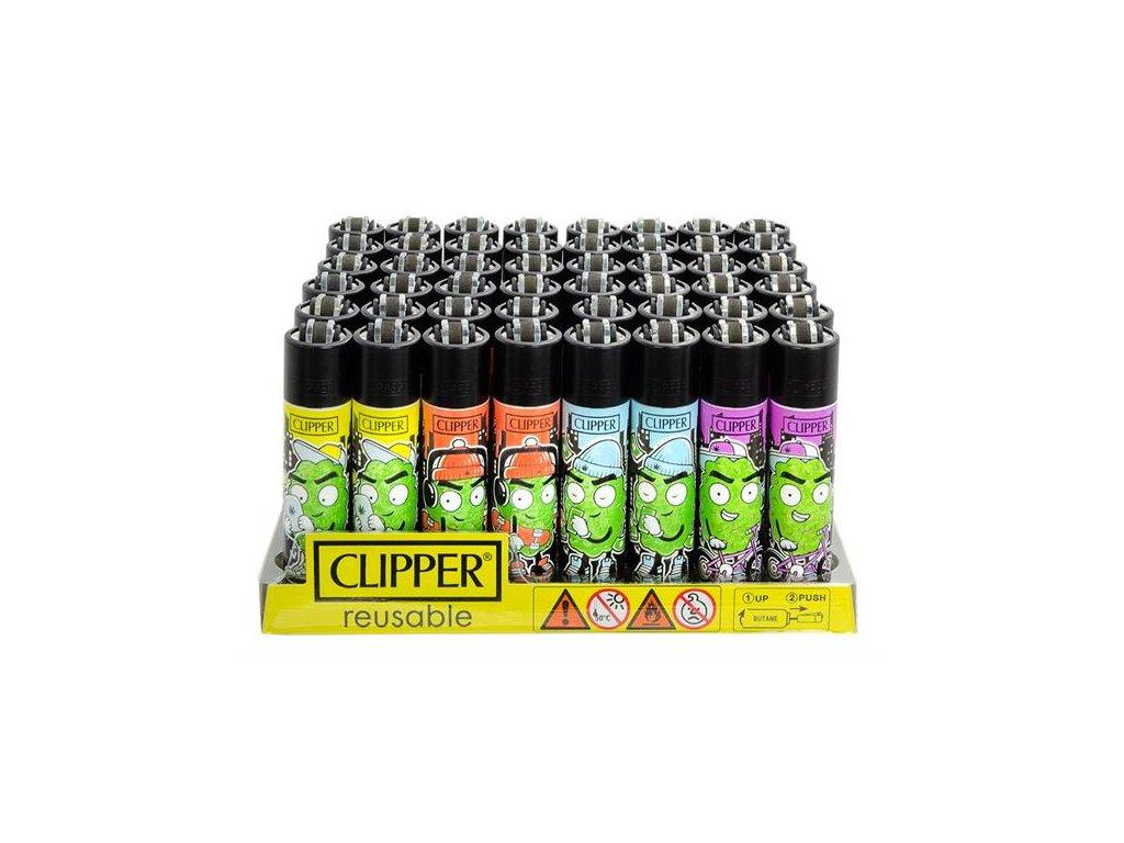 Zapalovač CLIPPER ® CP11RH 420 Buds Buddies