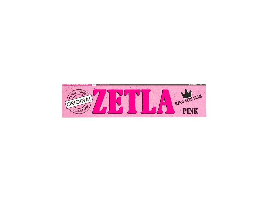 Konopné papírky Zetla Slim Pink Edition