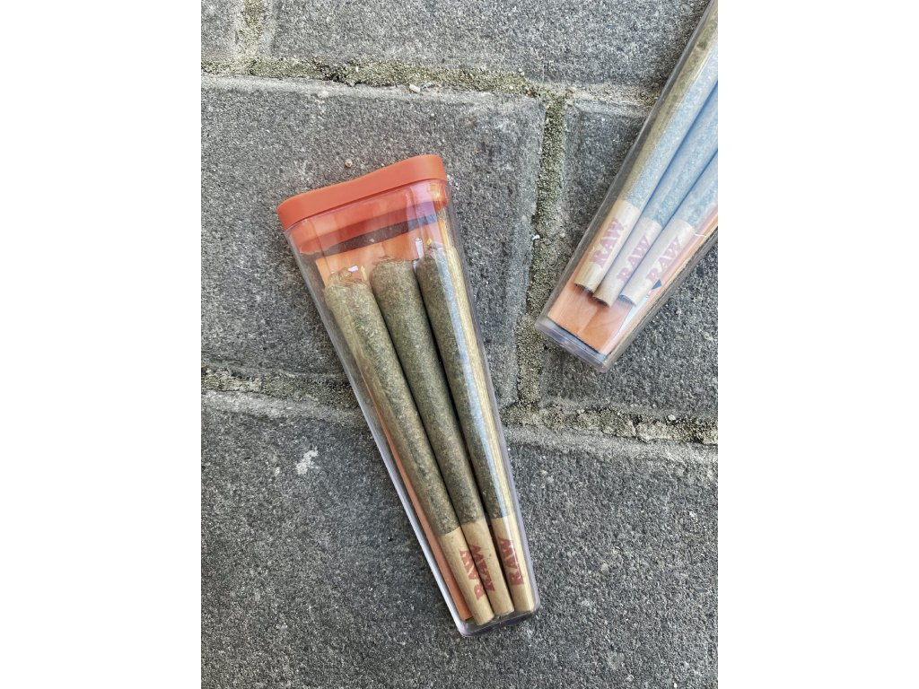 CBG Weed Space Stoners Prerolled 3Pack Silver Haze CBG 8 % 3 G