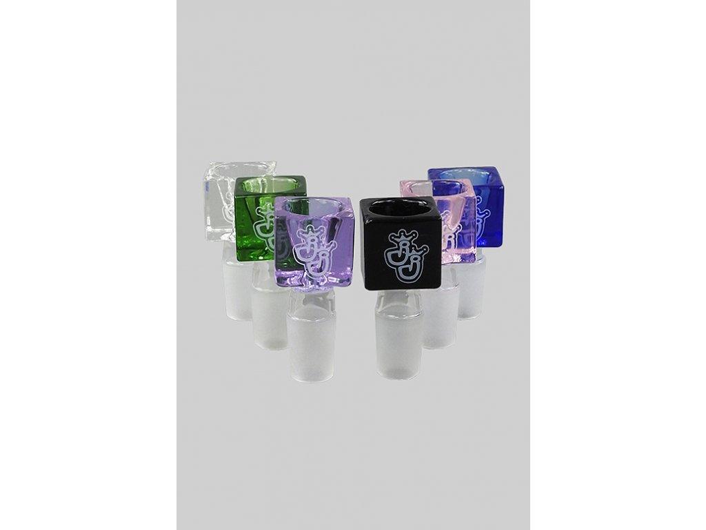 Skleněný kotel Jelly Joker Cube Color 18,8 mm