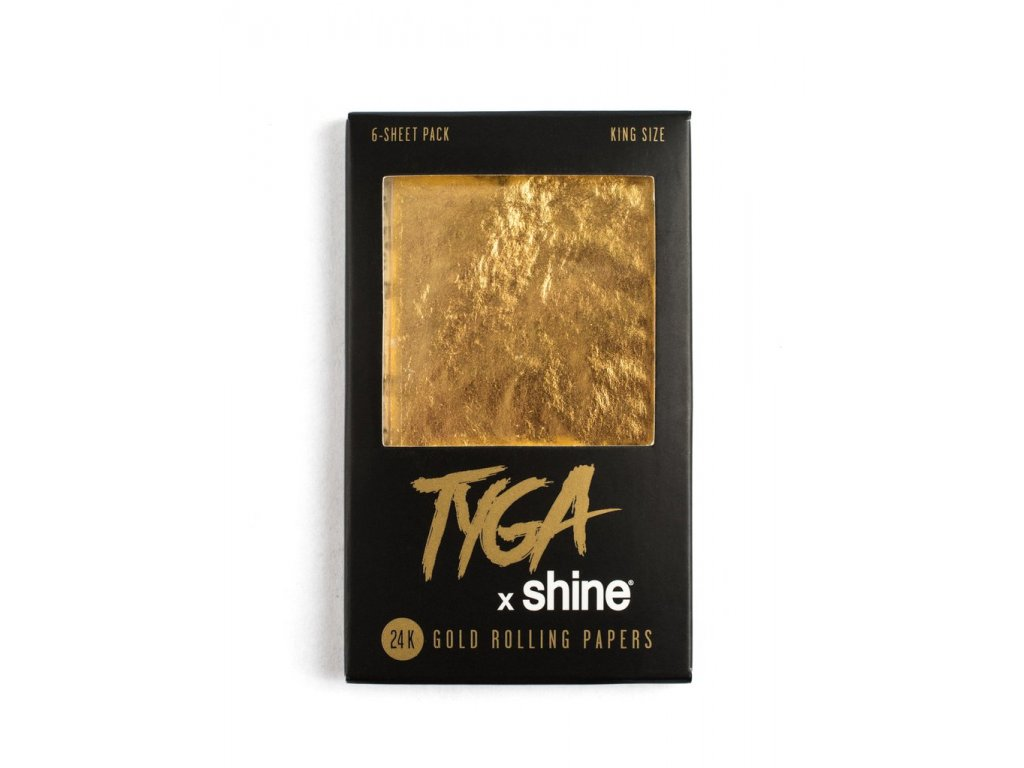 Zlaté papírky Shine 24k TygaPack