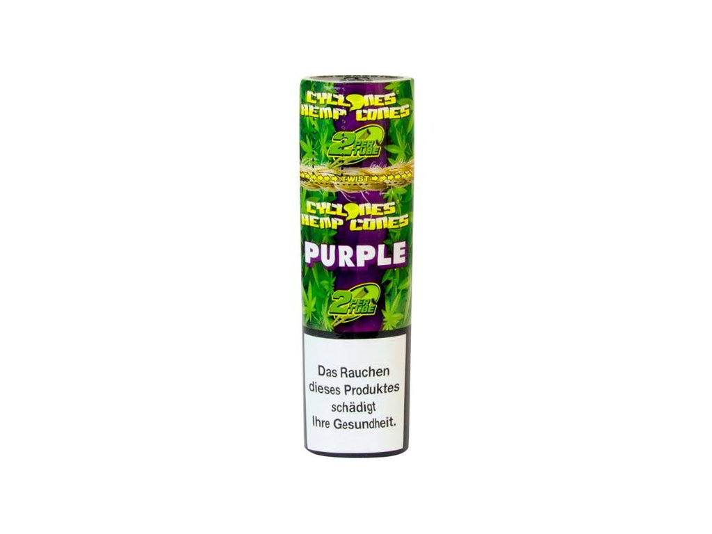 Cyclones Konopný Blunt Double Purple