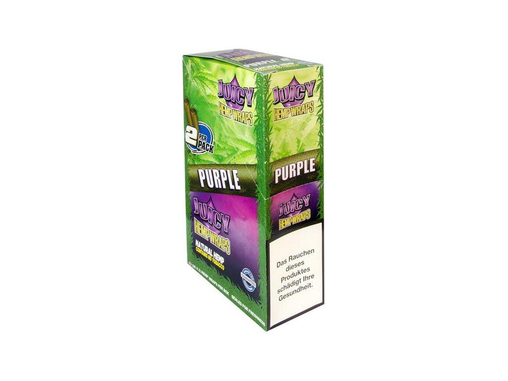 Konopné blunty Juicy Jay´s Double Purple