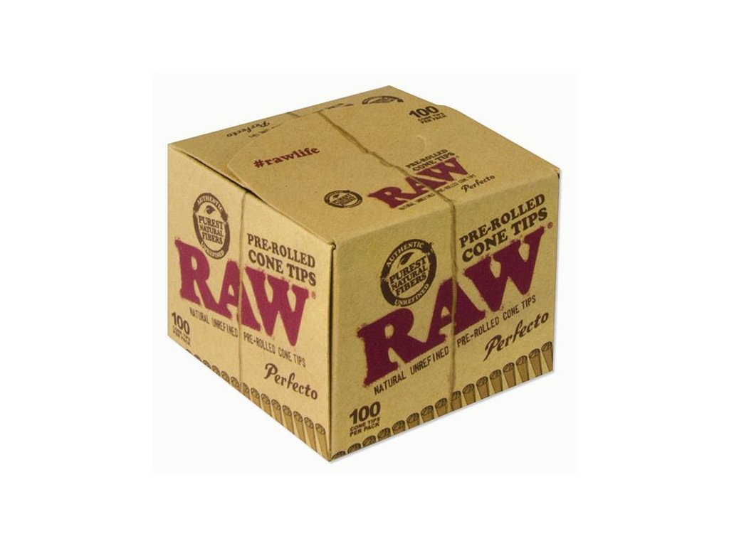 RAW Papers Prerolled Filter Cone Tips