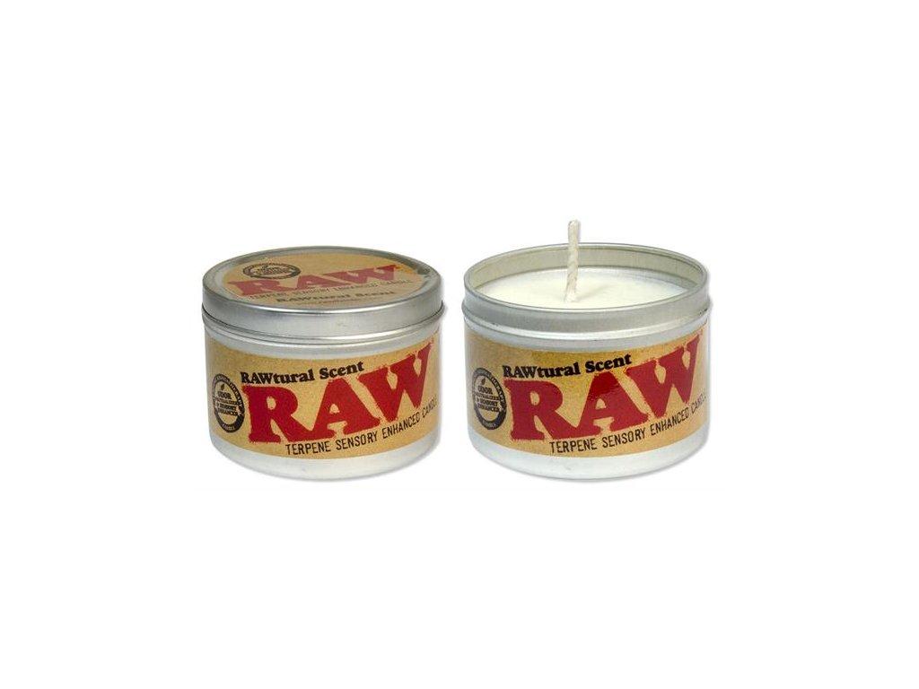 Svíčka Raw Papers Terpene Neutralizator