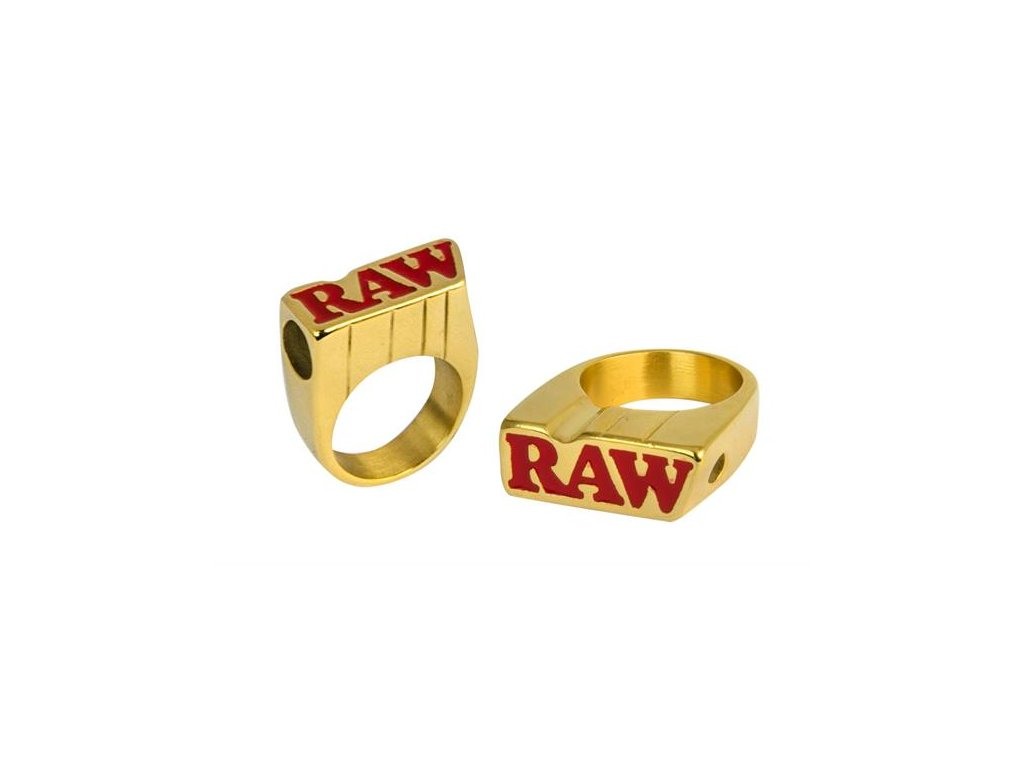 Zlatý prsten Raw Smokers Ring Size 10
