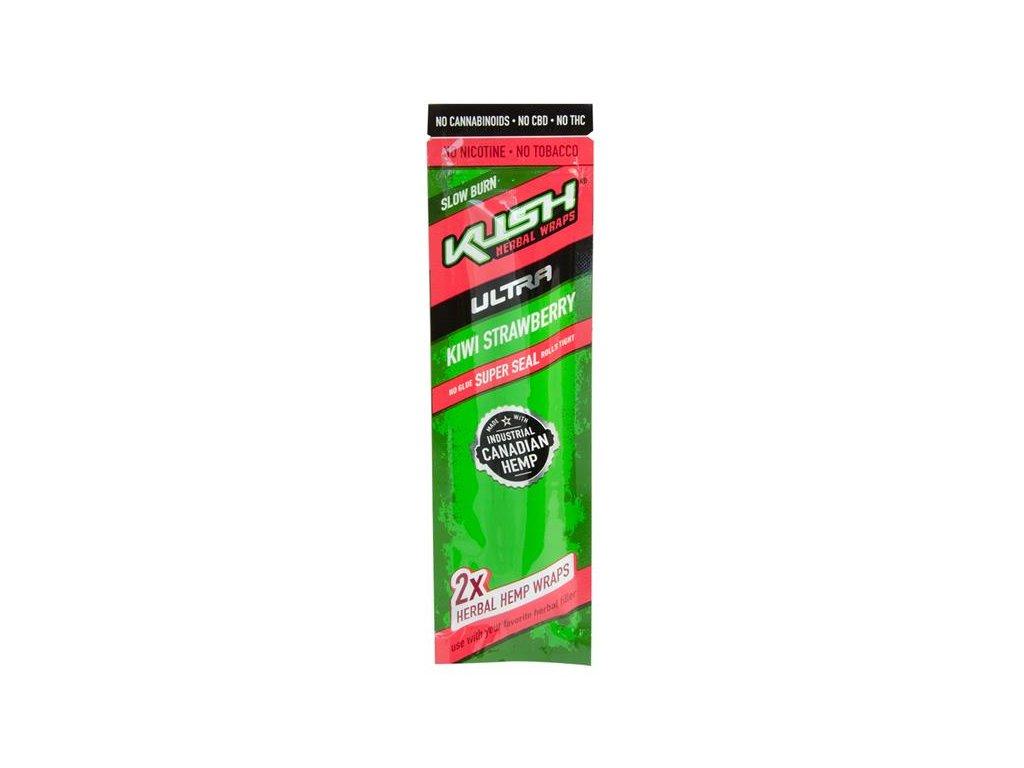 Konopné blunty KUSH Ultra Wraps 2pack Kiwi Strawberry