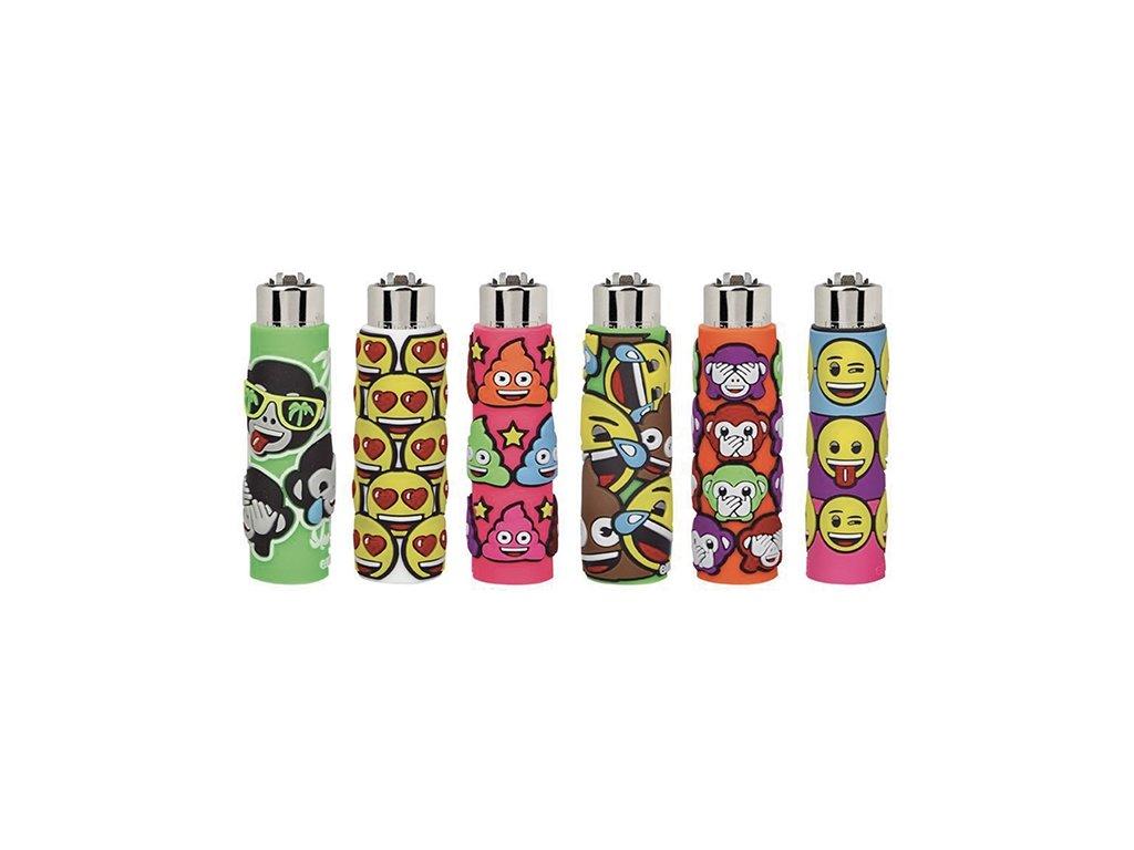 Zapalovač CLIPPER ® The Coolest Emoji Brand