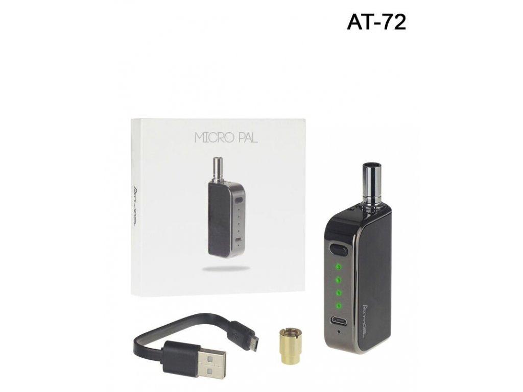 Micro-Pal je pohodlný a diskrétní způsob výroby voskových konzistenčních produktů a silných olejů. Kompatibilní s předplněnými a znovu naplněnými kazetami, baterie Micro Pal je vybavena magnetickým připojením, které lze snadno aplikovat na libovolnou kazetu 510 pro rychlé odstranění a výměnu. Micro Pal je baterie s proměnlivým napětím, která vám nabízí čtyři optimalizovaná nastavení napětí a pokročilá funkce předehřívání umožňuje rychlejší a snadnější ovládání. Tato sada je dodávána s pokročilou voskovitou kazetou, která využívá jedinečný křemenný topný článek, který rovnoměrně odpaří váš výrobek a vytváří čisté a aromatické výpary.