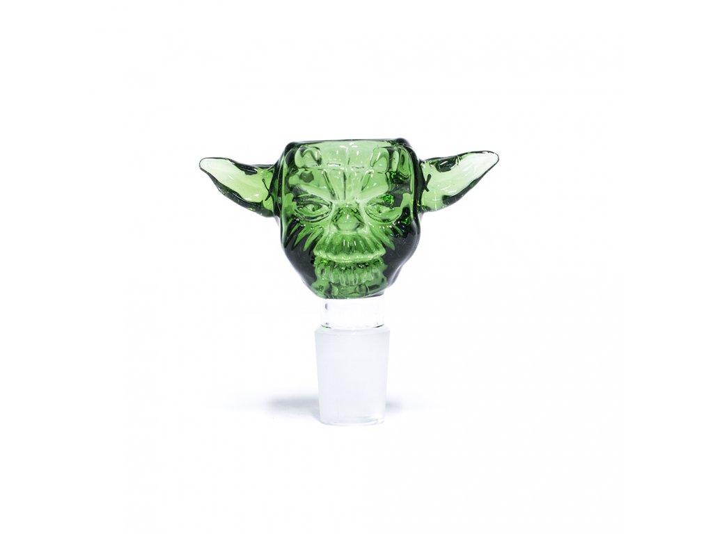 Skleněný kotel Yoda Head 18,8 mm