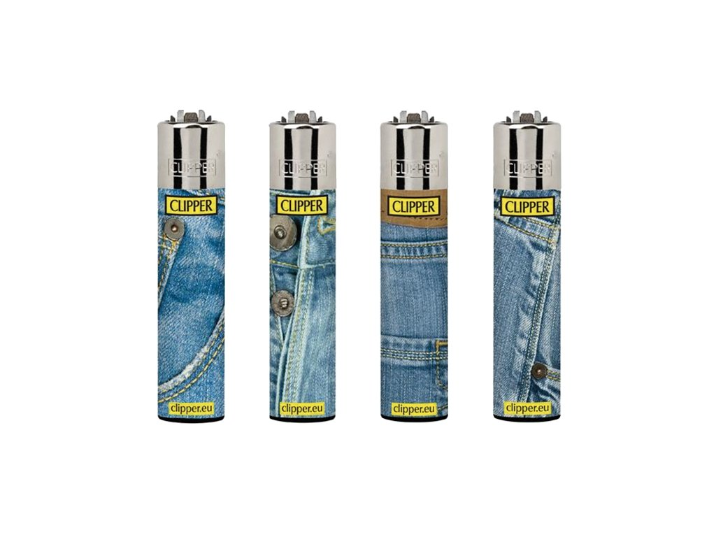 Zapalovač CLIPPER ® CP11RH Jeans #2