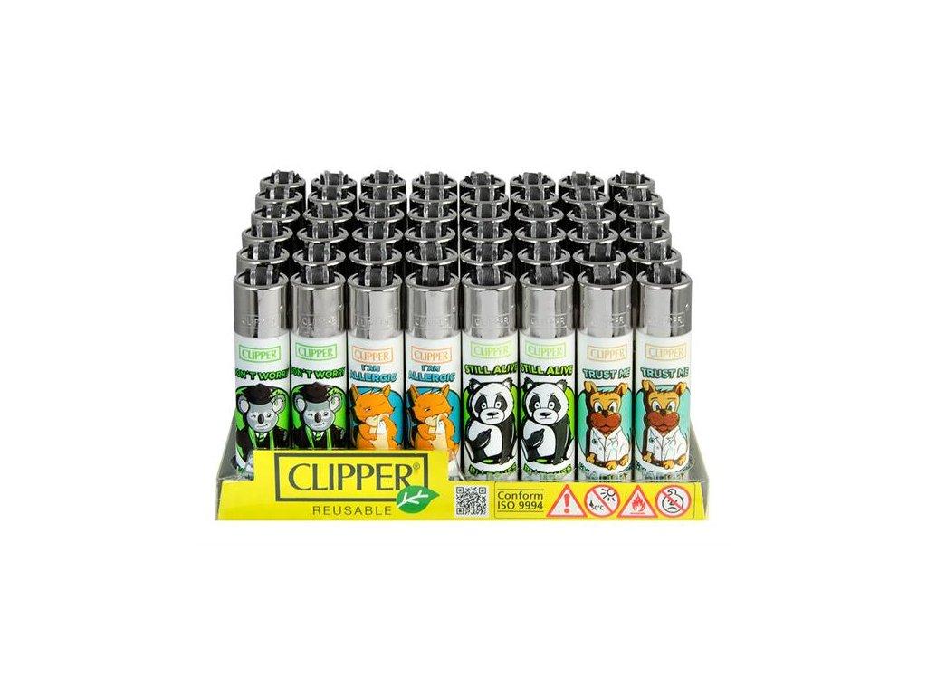 Zapalovač CLIPPER ® CP11RH Animal Sentences