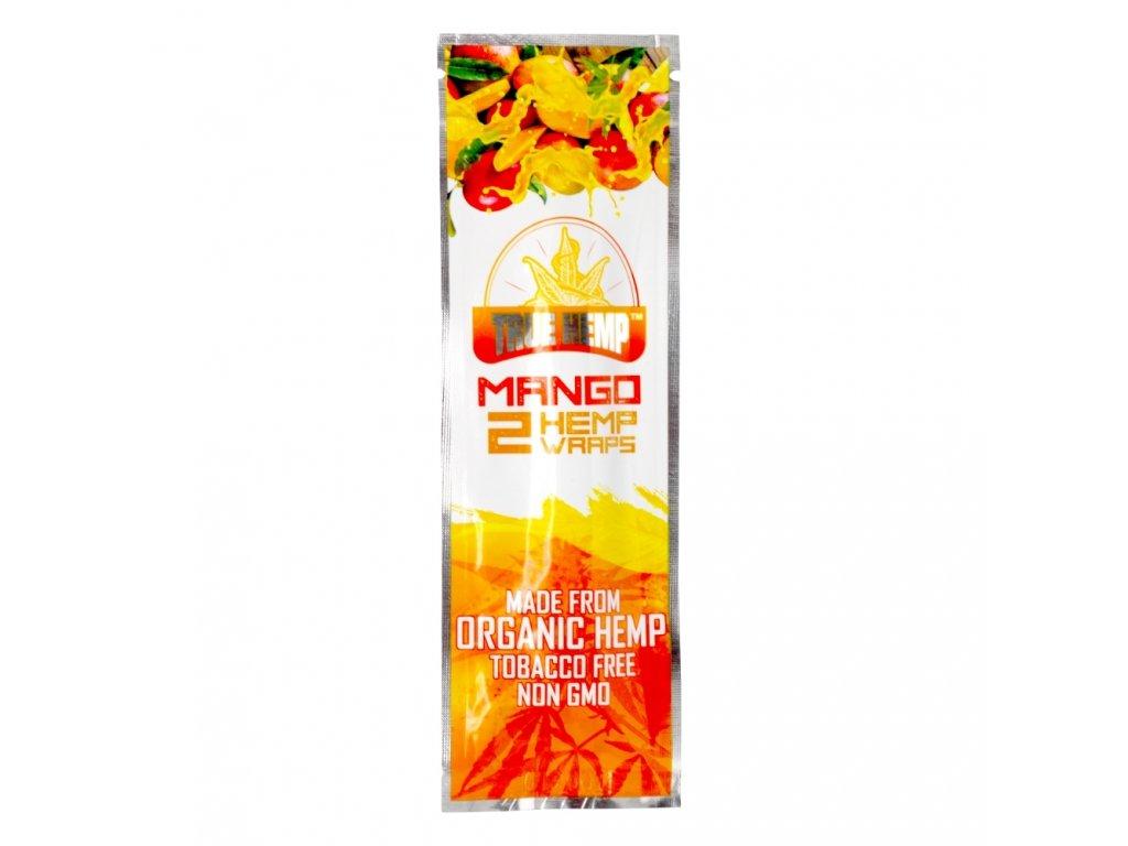 Konopné blunty True Hemp USA Mango 2pack