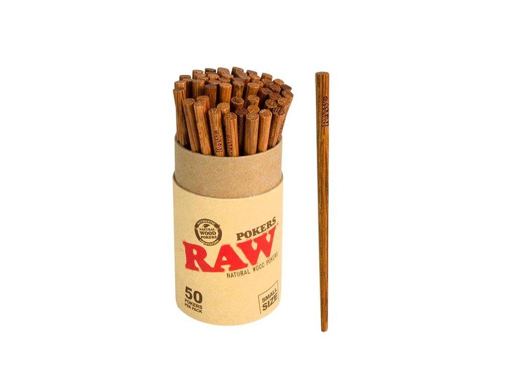 Raw Papers RAW Poker Stuffer Wood 5pcs