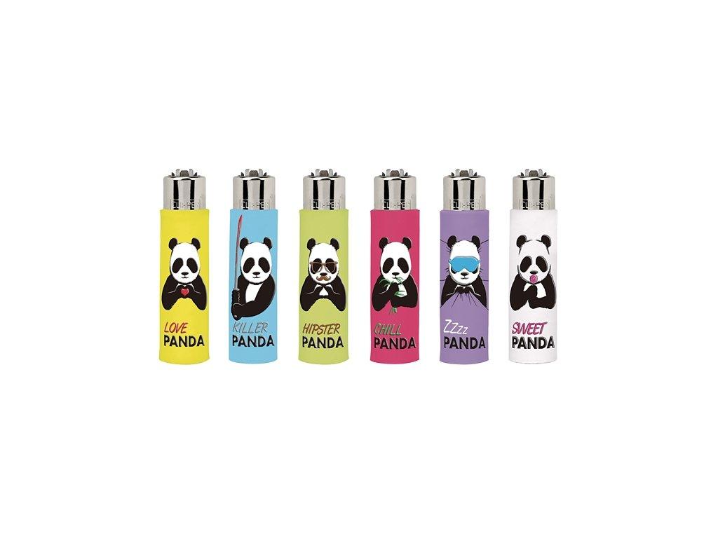 Zapalovač CLIPPER ® The Coolest Covers Panda