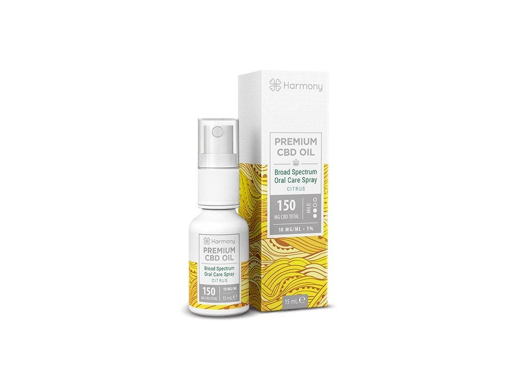 Harmony Premium full spectrum CBD-Oil SPRAY CBD Citrus 150 mg