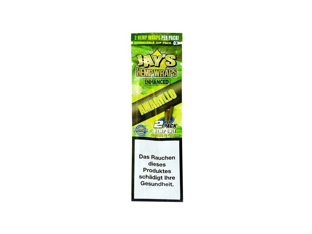 Konopné blunty Juicy Jay´s Terpene Wraps Amarillo 2Pack