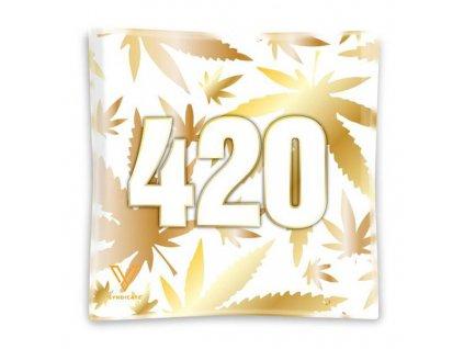 Skleněná balící podložka Syndicate 420 Gold Mini Tray