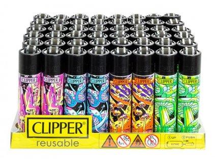 Zapalovač CLIPPER ® CP11RH Shrooms #7