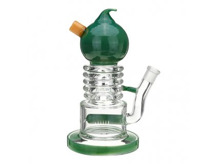 Skleněný bong Duck InlinePercolator Rig Recycler