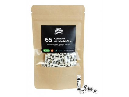 Uhlíkové filtry Kailar White Aktivní celolůzové filtry Slim 65