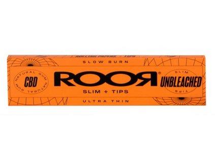 RooR Classic Connoisseuir Infused CBD King size Orange