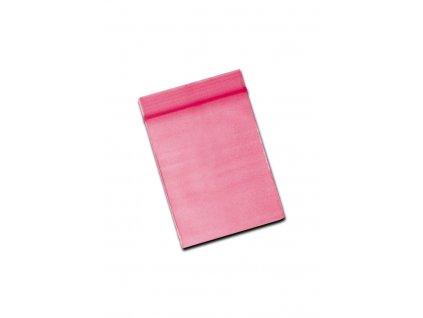 Plastové sáčky růžové 4x6 cm