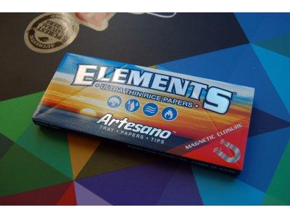 ELEMENTS Artesano King Size+ filtry