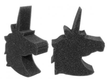 Pěnová čistící houba Unicorn Black