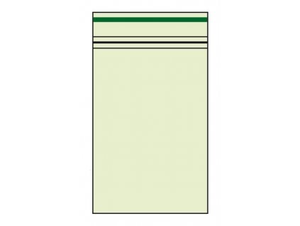 Plastové sáčky zelené 4x6 cm