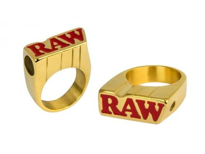 Zlatý prsten Raw Smokers Ring Size 8