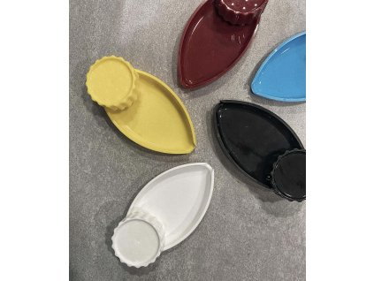 Akrylová drtička dvoudílná s miskou