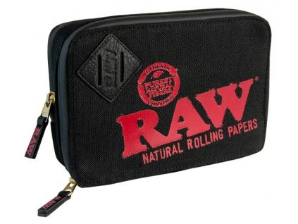 Cestovní pouzdro Raw Papers Black Ultimate Weekender
