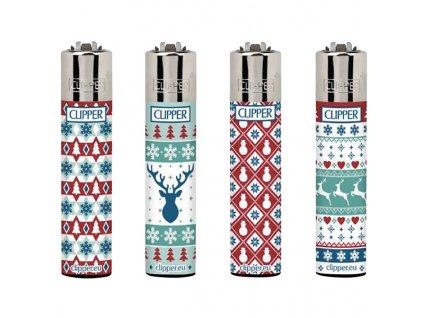 Zapalovač CLIPPER ® CP11RH Winter Edition