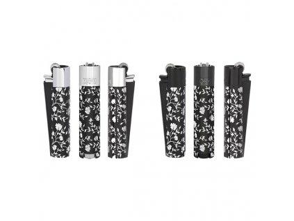 Kovový Zapalovač Clipper ® Silver Pattern