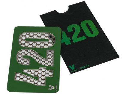 Drtící karta 420