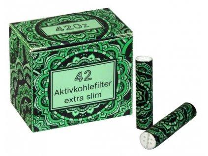 Uhlíkové filtry Original 420z Green Extra Slim