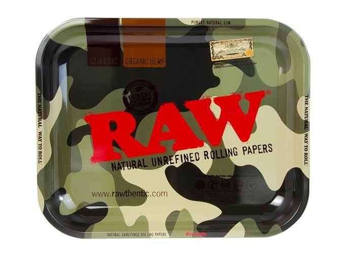 Balící podložka RAW Papers Camouflage XL