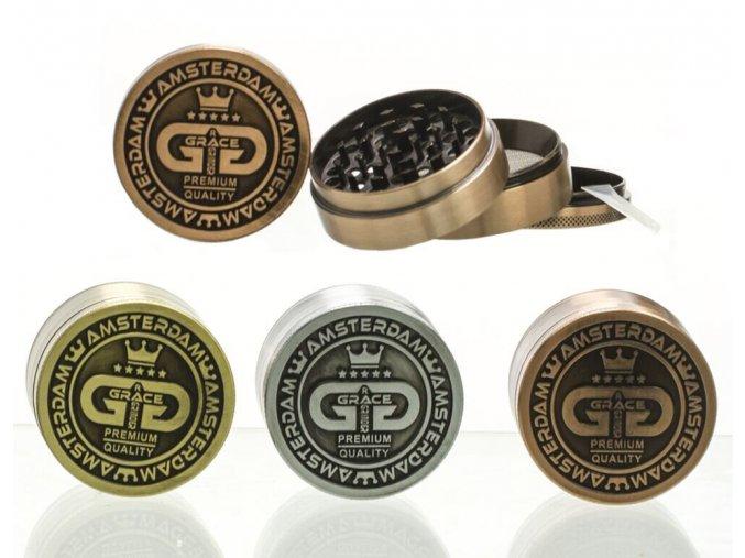 Kovová čtyřdílná drtička Grace Glass Limited