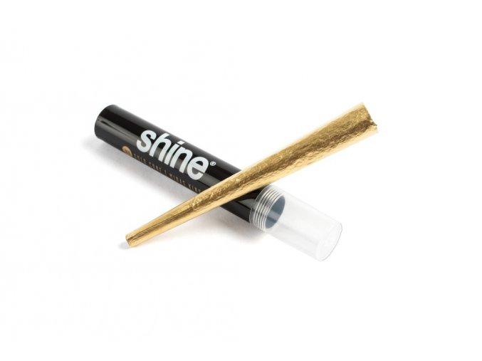 Zlaté papírky Shine 24k Cone