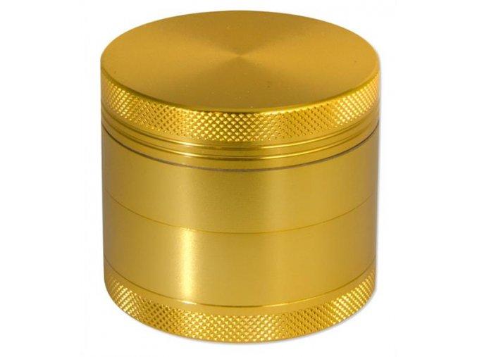 Kovová čtyřdílná drtička Rotor-mlýnek Gold
