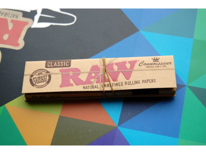 RAW Classic Connoisseuir King size