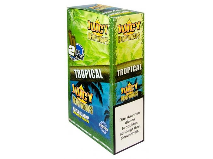 Konopné blunty Juicy Jay´s Double Tropical