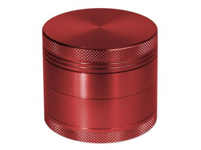 Kovová čtyřdílná drtička Rotor Red