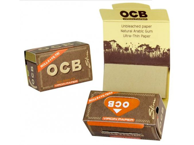 OCB Virgin Long Rolls + Tips