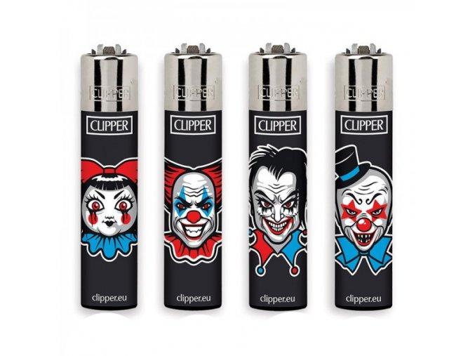 Zapalovač CLIPPER ® CP11RH Horror Clowns