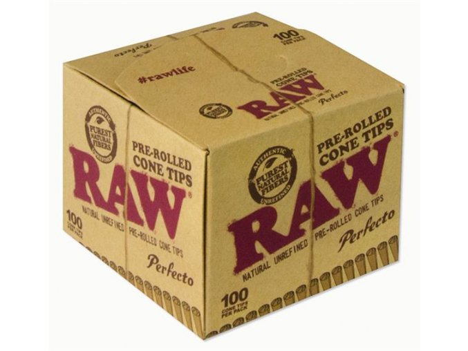 RAW Papers Prerolled FilterTips