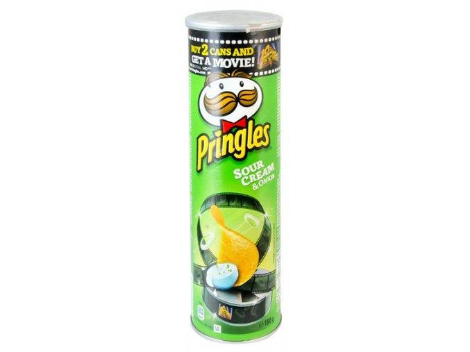Diskrétní Schovka Pringles Sour Cream & Onion Chips Green