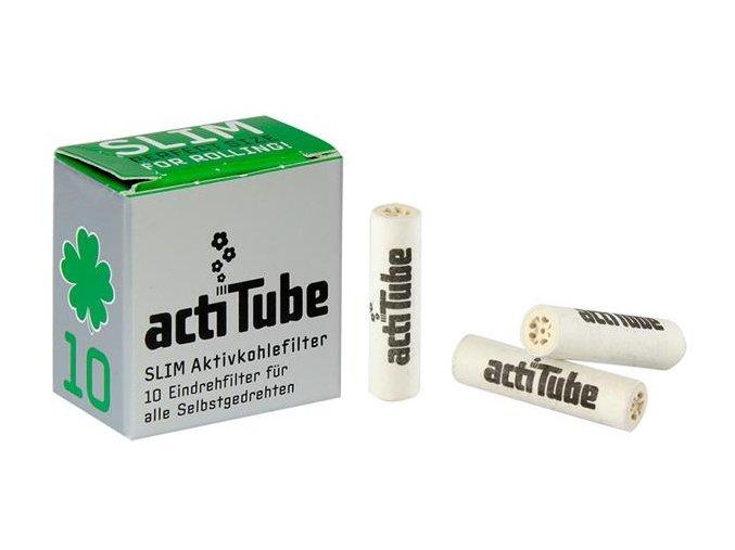 Uhlíkové filtry ActiTube Slim 10